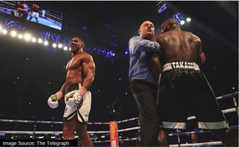 Anthony Joshua Beats Mike Tyson's KO Record
